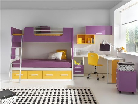 Muebles orts noticias - Dormitorios infantiles dos camas ...