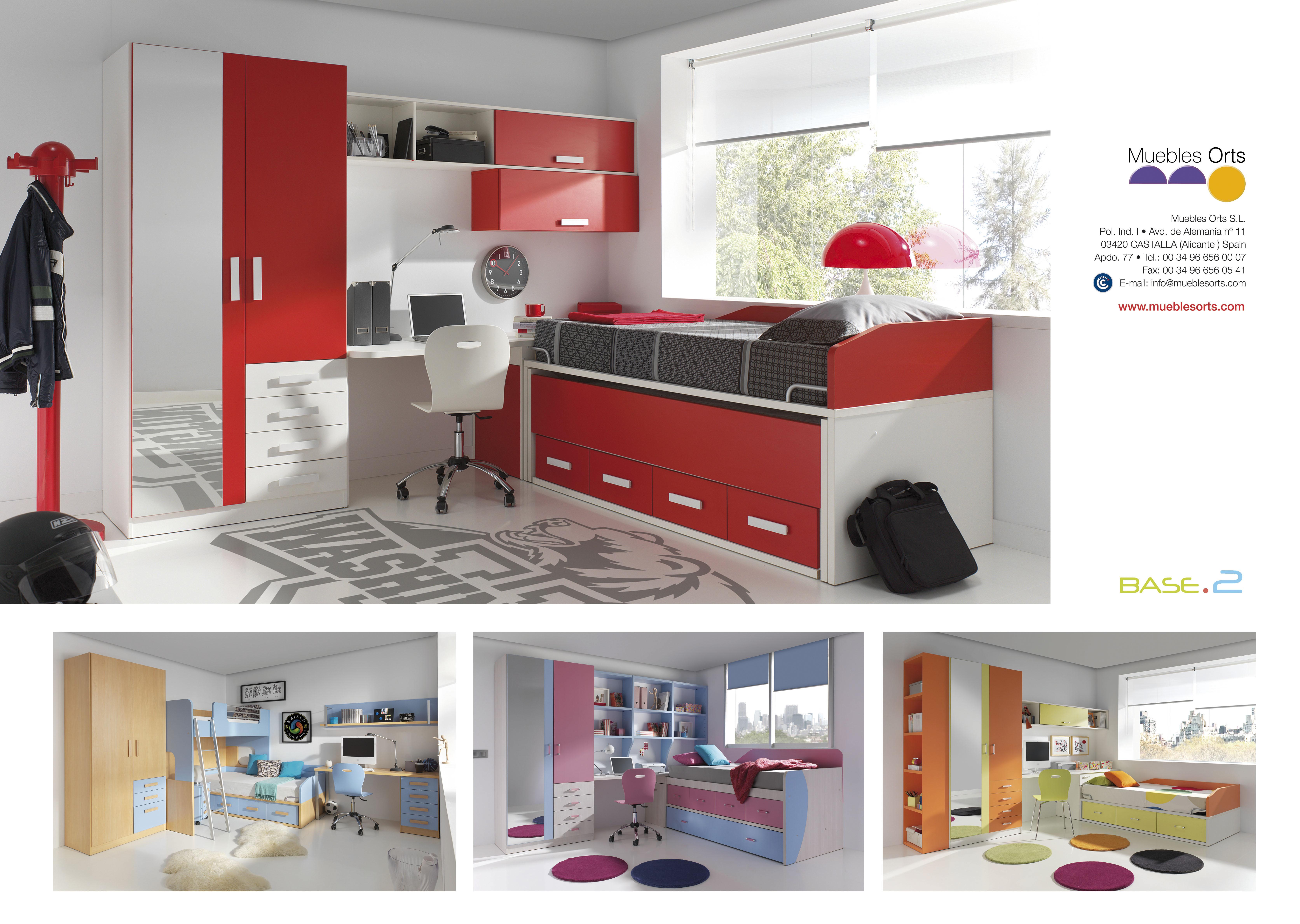El Mueble Dormitorios Juveniles Dise Os Arquitect Nicos  # Muebles Refolio